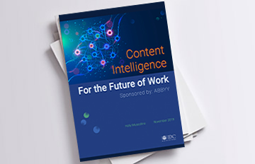 IDC white paper - Content Intelligence for the Future of Work
