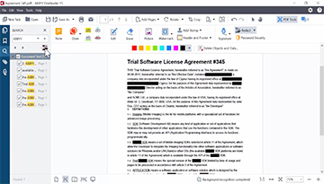 How to protect and redact in PDF