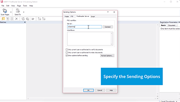 How to scan documents using ABBYY FineReader Server scanning station