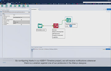 How to integrate ABBYY Timeline with Alteryx Analytic Platform™