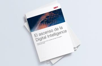 """logo libro blanco de ABBYY """"El ascenso de la Digital Intelligence"""""""